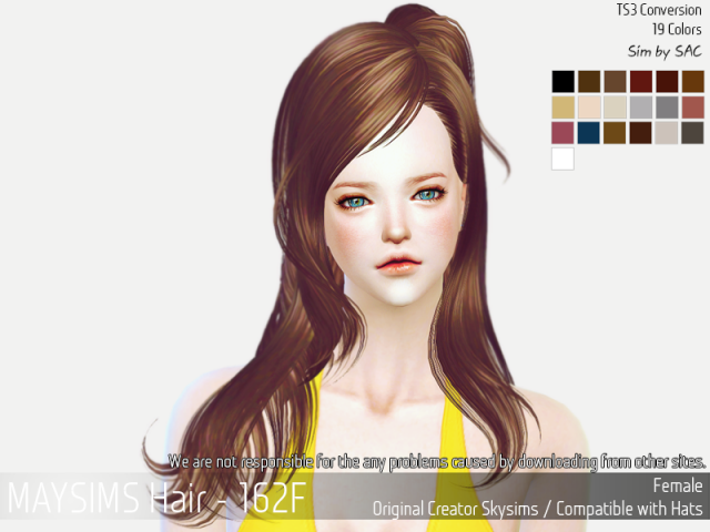 Hair162F by MaySims