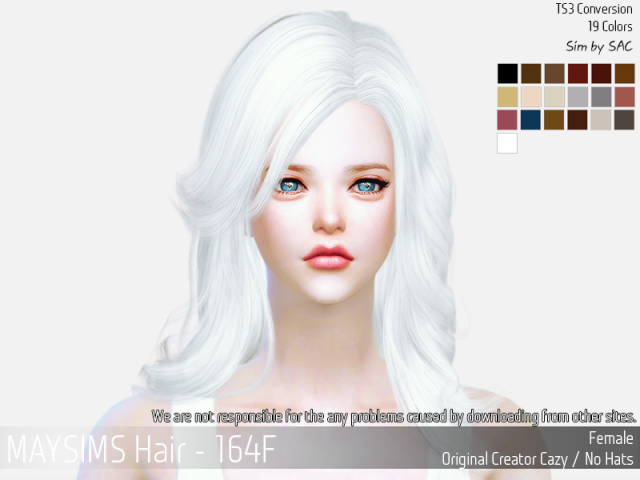 Hair164F by MaySims