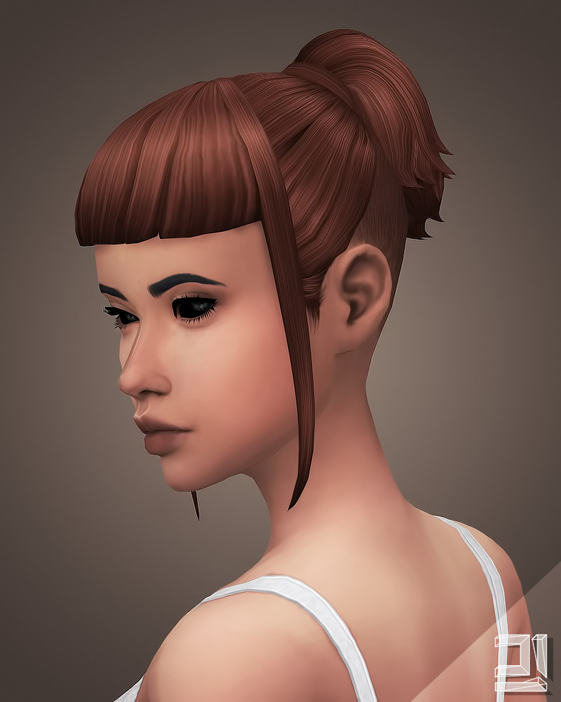WMS Kristin Hair Recolors by LittleCrisps