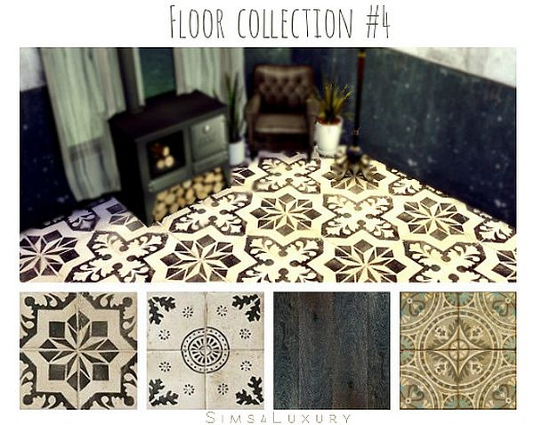 Floor collection #4 by Sims4Luxury
