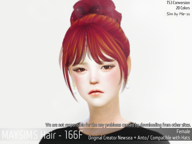 Hair166F by MaySims