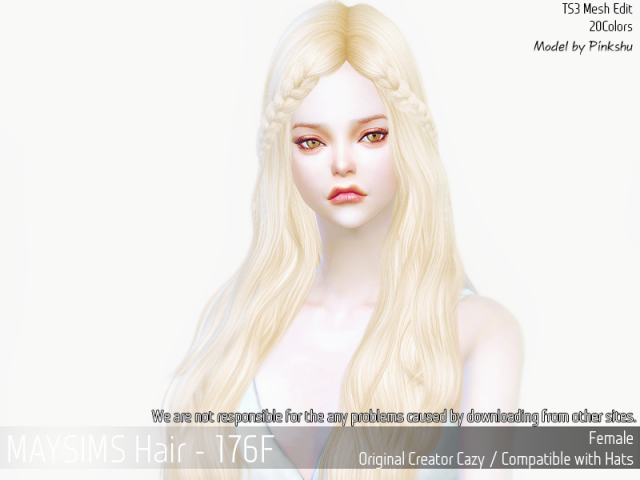 Hair176F by MaySims
