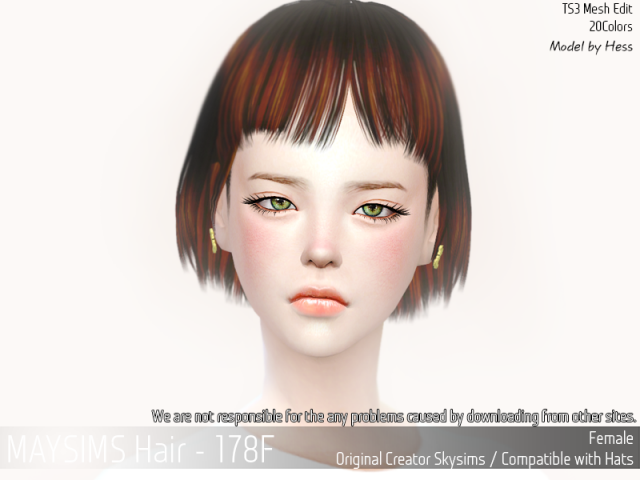 Hair178F by MaySims
