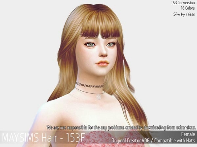 Hair153F by MaySims