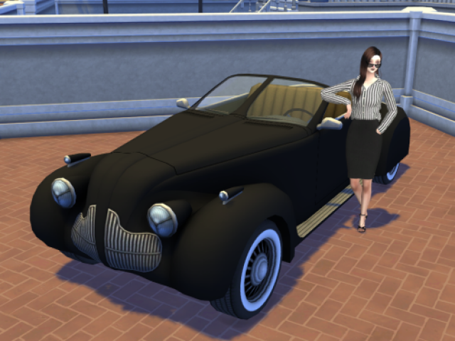 TS3 High Society Car Conversion от EnureSims