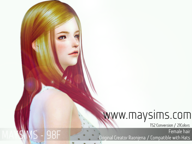 Hair98F by MaySims