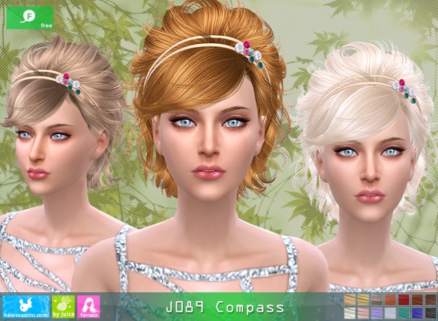 Hairstyle J089 Compass by Newsea