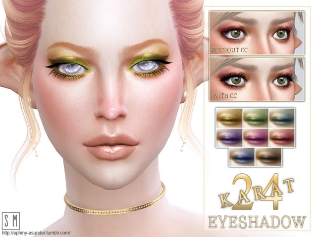 [ 24 Karat ] - Shimmering Eyeshadow by Screaming Mustard