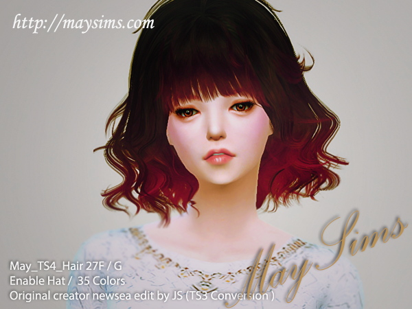 Hair27F_G by MaySims