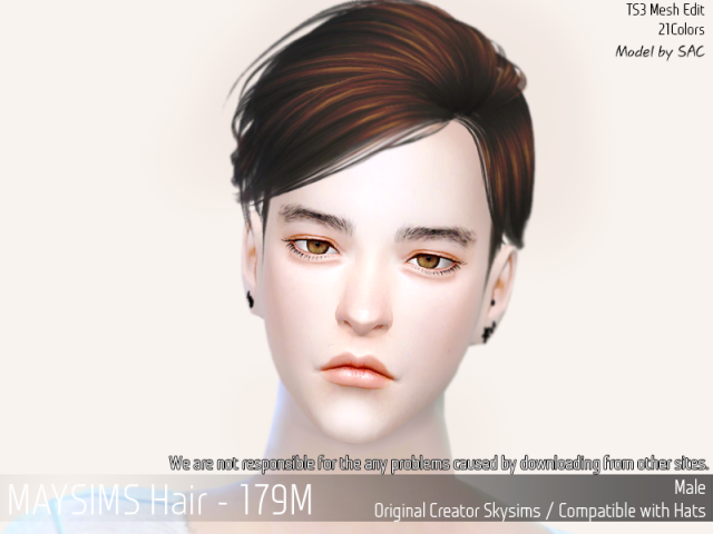 Hair179M by MaySims
