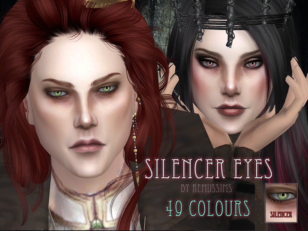 Silencer Eyes by RemusSirion