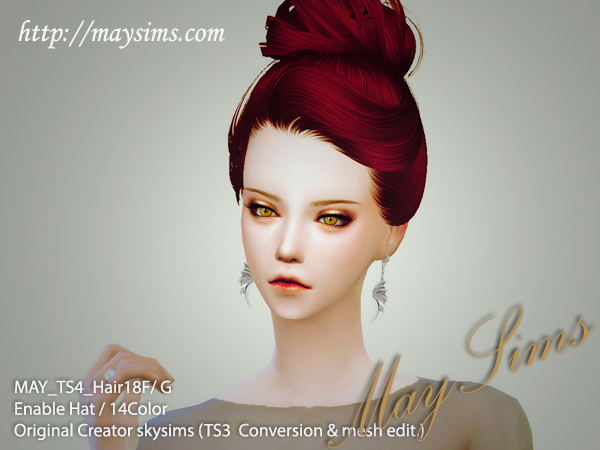 Hair18F_G by MaySims