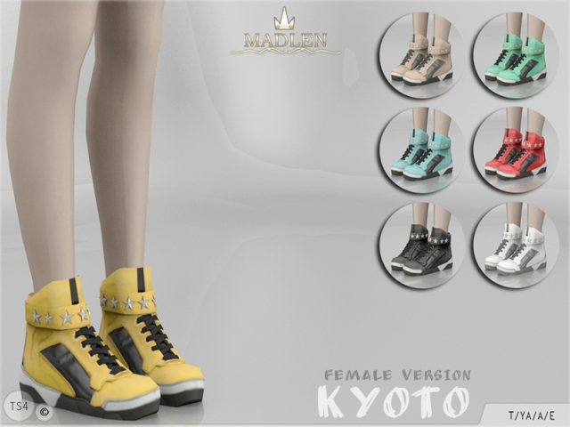 Madlen Kyoto Shoes (FEMALE) by MJ95