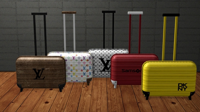 TS2 Suitcase Conversion by Leo-Sims