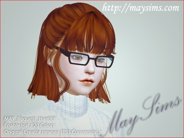 Hair08F by MaySims