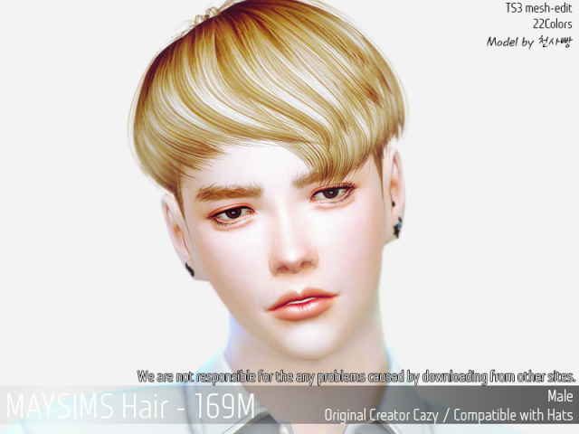 Hair169M by MaySims