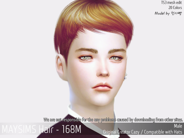 Hair168M by MaySims