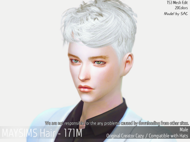 Hair171M by MaySims