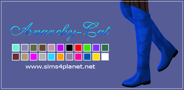 Madlen Mila Boots by Anarchy-Cat