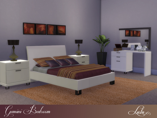 Gemini Bedroom by Lulu265