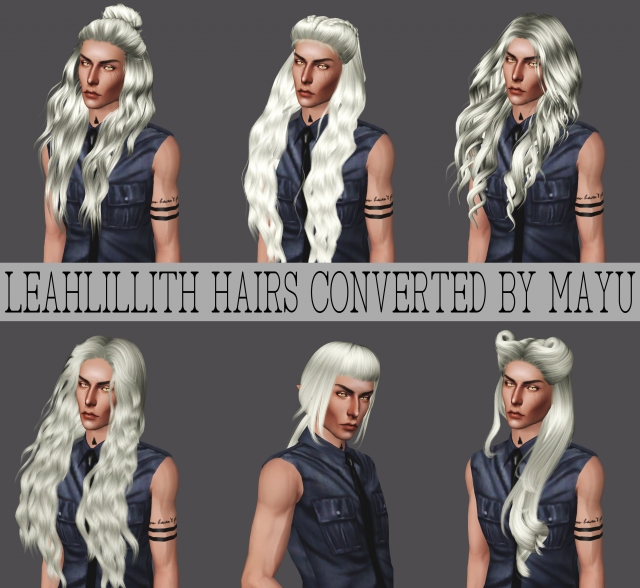 LeahLillith Hairs Converted by Mayu