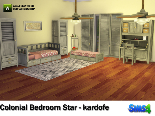 kardofe_Colonial Bedroom Star