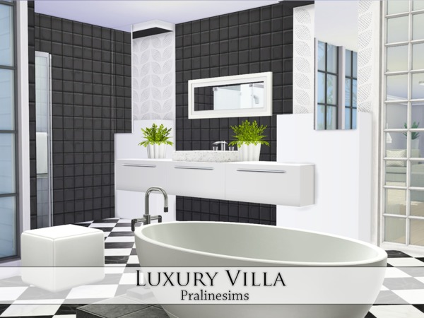 Luxury Villa by Pralinesims