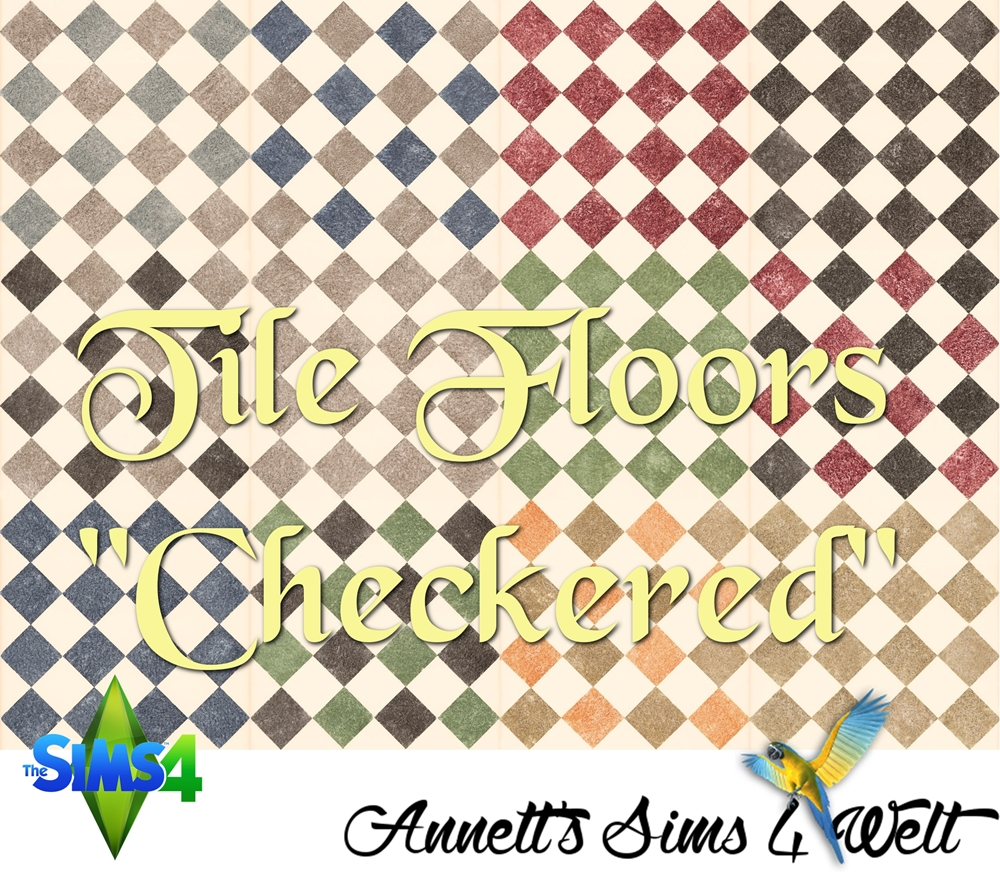 "Tile Floors ""Checkered"" by Annett85"