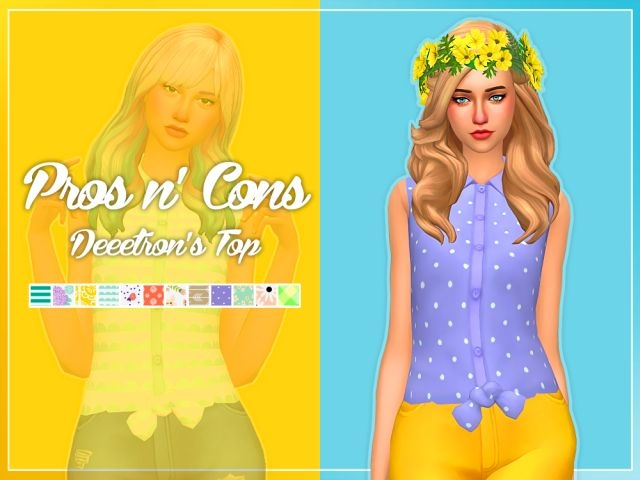 Pros & Convertibles Top Edit and Recolors for Females by Nolan Sims