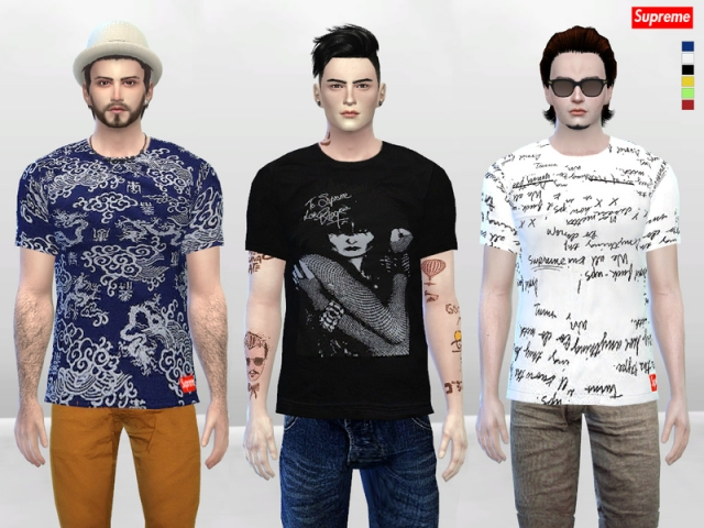SP Signature Large Tees by McLayneSims