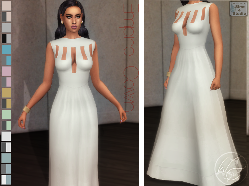 Empire Gown by WhiteCrow
