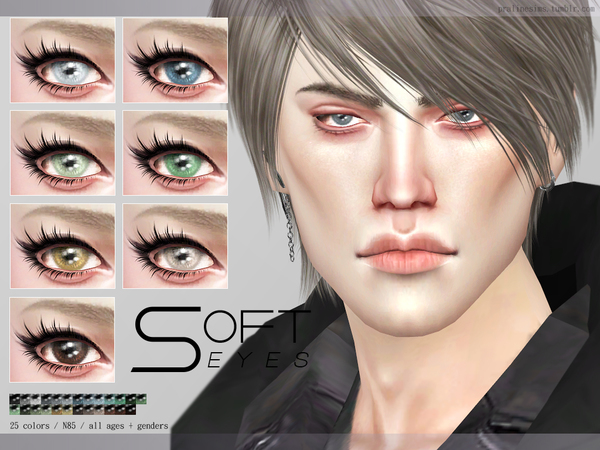 Soft Eyes N85 by Pralinesims