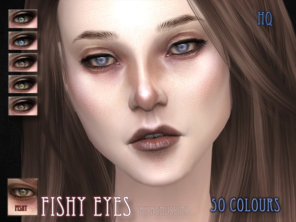 Fishy Eyes by RemusSirion