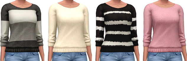 Loose Knit Sweaters by marvinsims