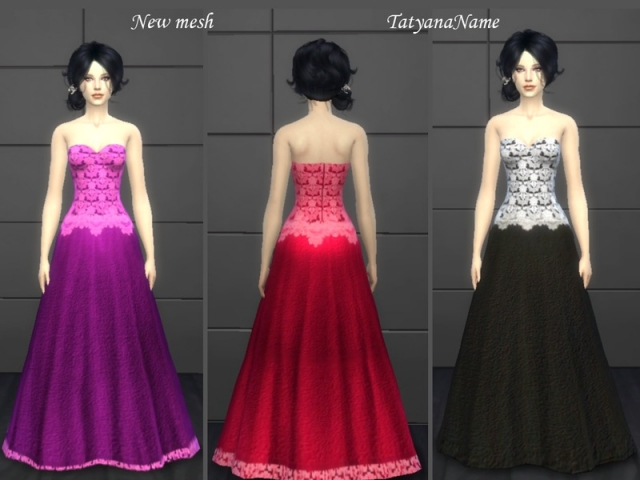 Lace dress 03 by TatyanaName
