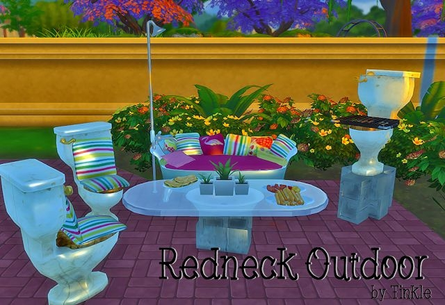 Redneck Outdoor Set by Tinkle