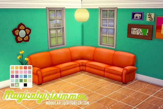 TS3 Modular Sofa Conversion by MagicalGirlSimmer