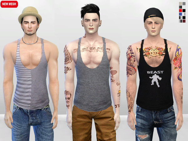 Meat Head Muscle Tank Top by McLayneSims