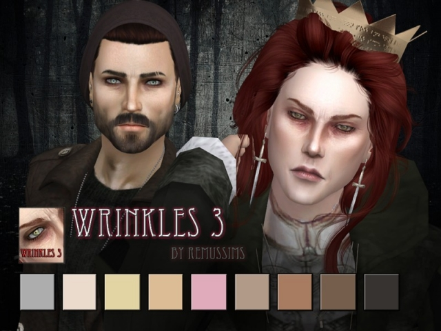 Wrinkles 3 - for males by RemusSirion