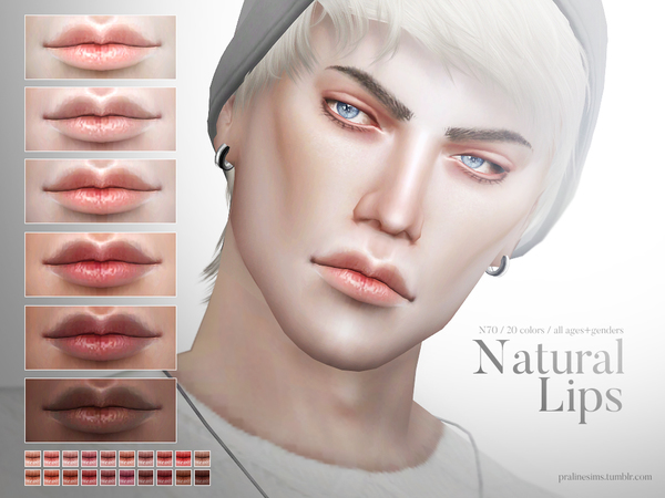 Natural Lips N73 by Pralinesims