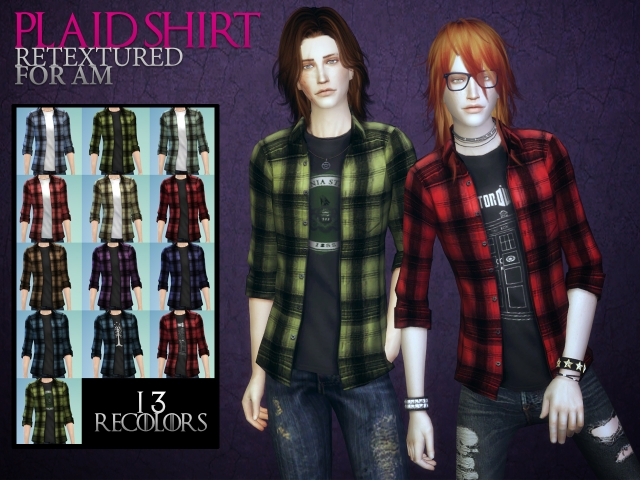 Plaid shirts by Astraea Nevermore