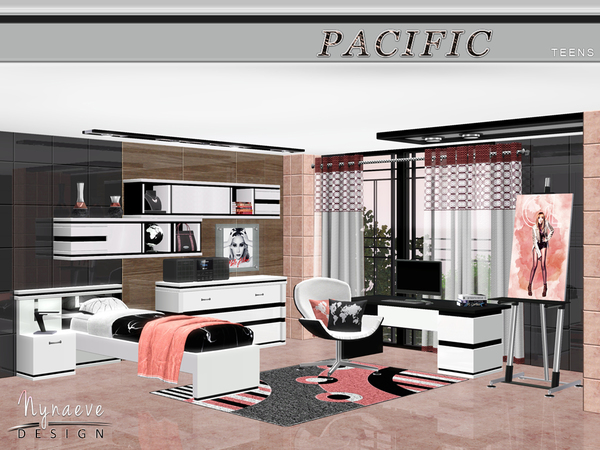 Pacific Heights Teen Bedroom by NynaeveDesign