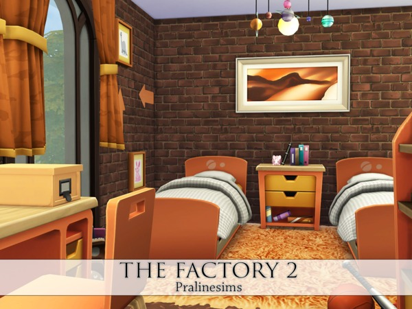 THE FACTORY 2 - Industrial Living by Pralinesims