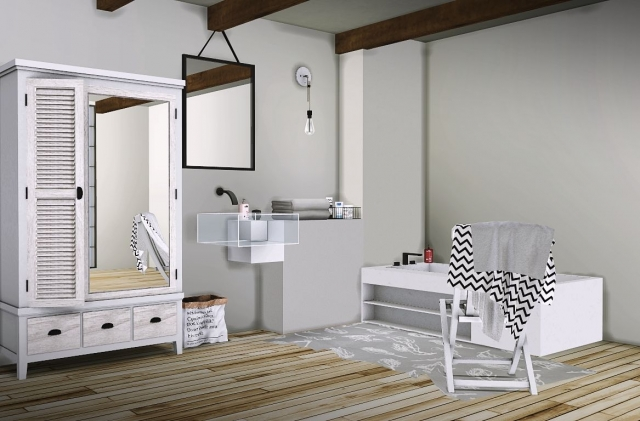 Ake Bathroom Set от MXIMS