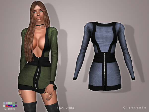 Set60- NICKI dress by Cleotopia