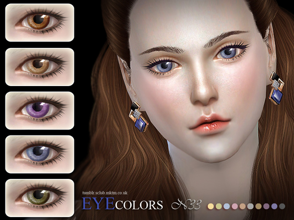 S-Club LL thesims4 Eyecolor 33