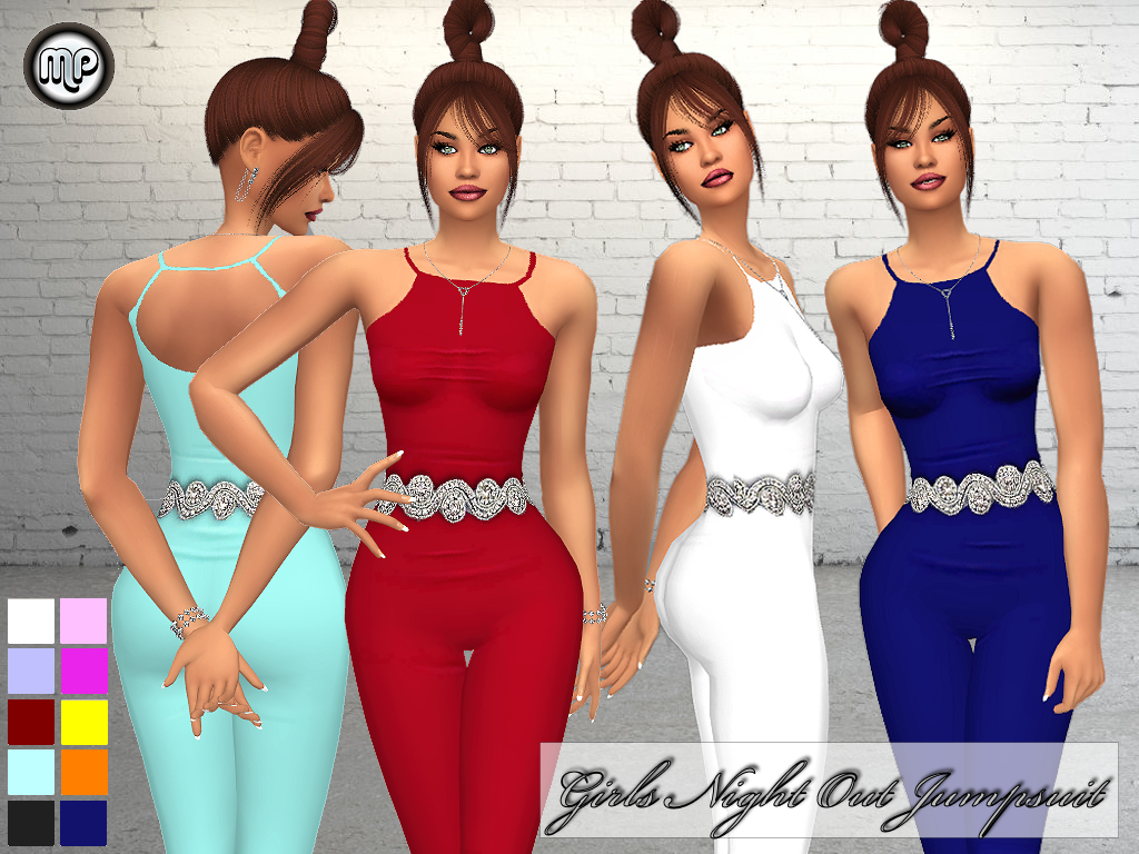 MP Girls Night Out Jumpsuit by MartyP