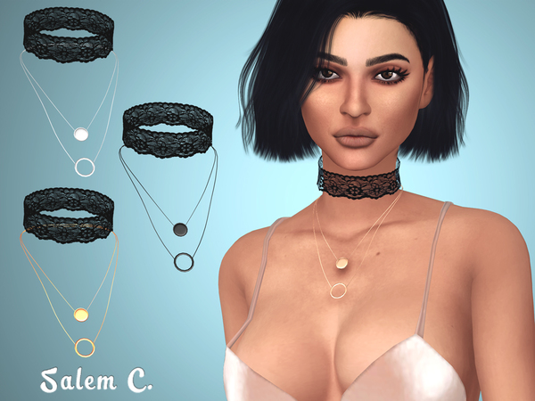 Lace Choker by Salem C