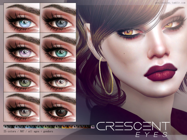 Crescent Eyes N87 by Pralinesims