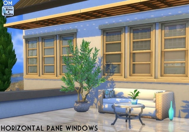 Horizontal Pane Windows от OM